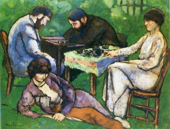 Marcel Duchamp, I giocatori di scacchi, 1910. Philadelphia Museum of Art