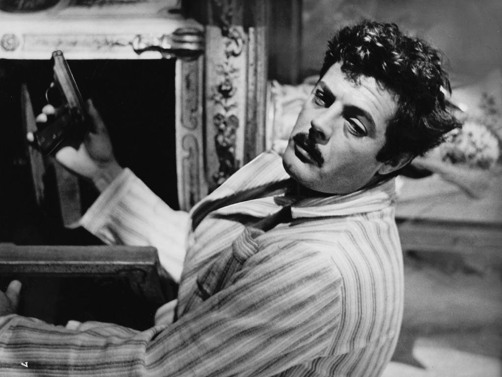 Marcello Mastroianni, Divorzio all'italiana (Pietro Germi, 1962). Courtesy Austrian Film Museum