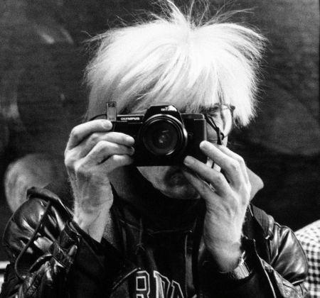 Maria Mulas, Andy Warhol, 1987