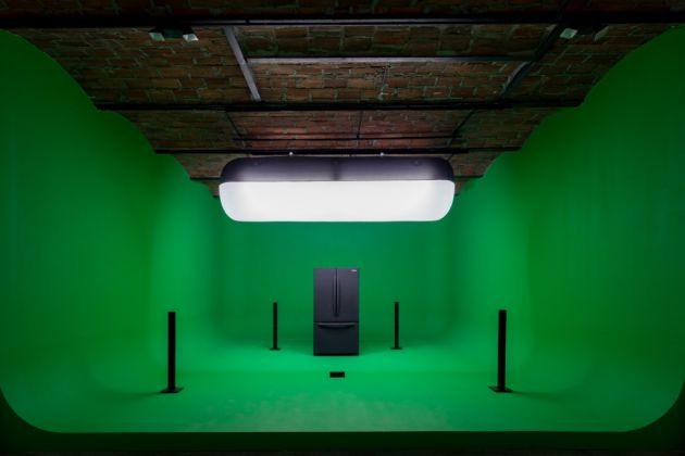Mark Leckey, GreenScreenRefrigerator, 2010-16. Courtesy of the artist & MoMA PS1. Photo Pablo Enriquez