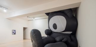 Mark Leckey, Inflatable Felix, 2014. Courtesy of the artist & MoMA PS1. Photo Pablo Enriquez