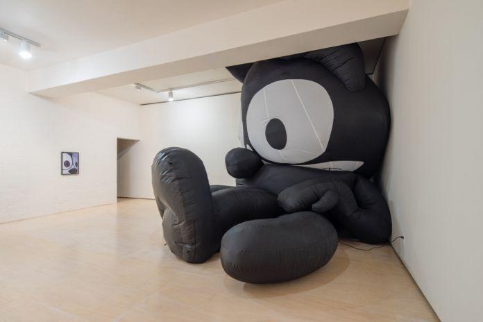 Mark Leckey, Inflatable Felix, 2014. Courtesy of the artist & MoMA PS1. Photo Pablo Enriquez