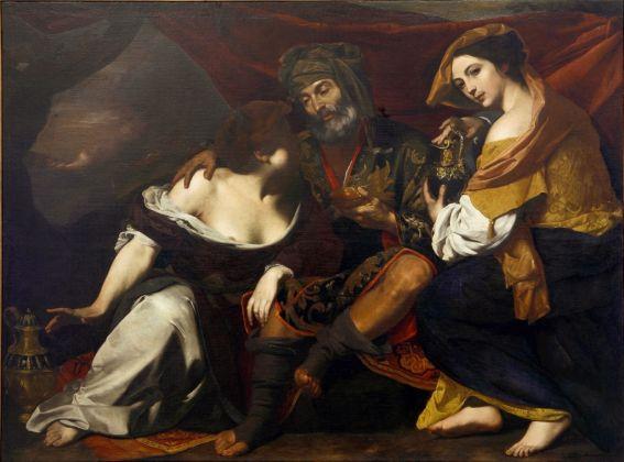 Massimo Stanzione, Loth e le figlie, 1635-40 ca.. Galleria Nazionale di Cosenza