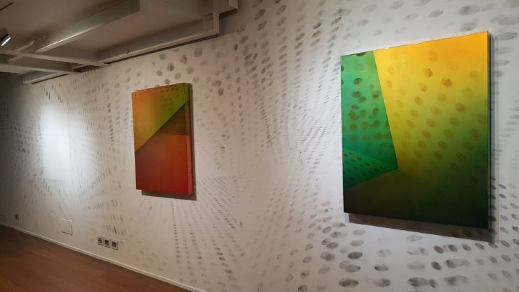 Matteo Negri, PSA, Wall. Galleria ABC Arte, Genova 2017. Photo Linda Kaiser