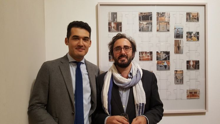 Matteo Negri, Piano piano. Antonio Borghese e Lorenzo Bruni. Galleria ABC Arte, Genova 2017. Photo Linda Kaiser