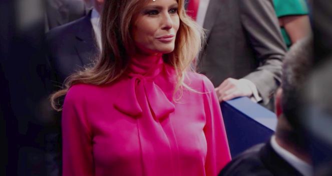 Melania Trump vestita Gucci
