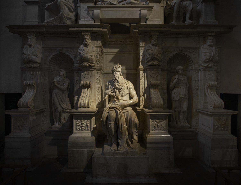 Michelangelo, Mosè,Mausoleo di Giulio II, Roma (foto Andrea Jemolo)