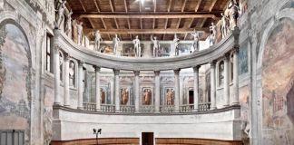 Michele Spanghero, Monologue, 2016. Teatro all'Antica, Sabbioneta