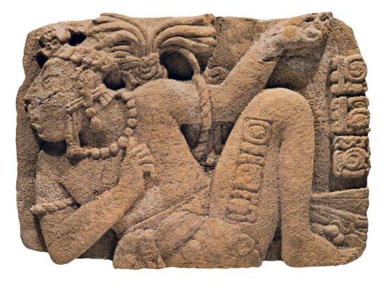 Monumento 14 - Toniná, Chiapas, Periodo Classico tardo (600-900 d.C.) - INAH, Museo de Sitio de Toniná, Ocosingo, Chiapas