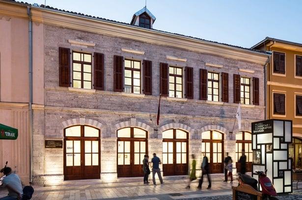 Museo Marubi, Scutari. Courtesy Casavona Hernandez. Facciata