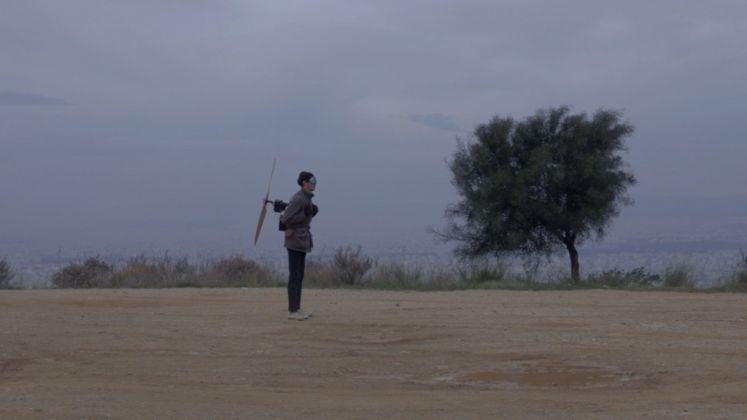 Orestis Mavroudis, Attempt to fly, 2013. Still da video