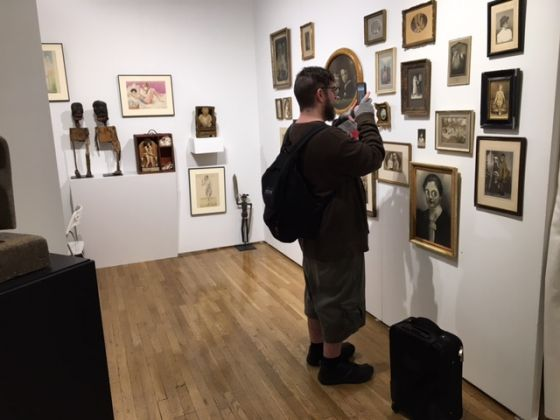 Outsider Art Fair 2017, New York (foto Francesca Magnani)