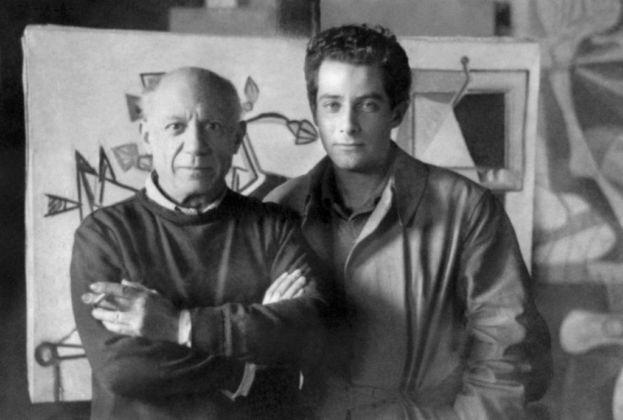 Pablo Picasso e Gillo Pontecorvo