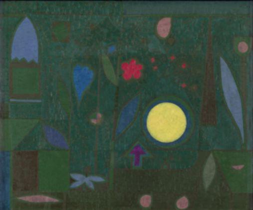 Paul Klee, Vollmond im Garten, 1934 - Hermann und Margrit Rupf-Stiftung, Kunstmuseum Bern - © Paul Klee's Estate-VEGAP, 2016