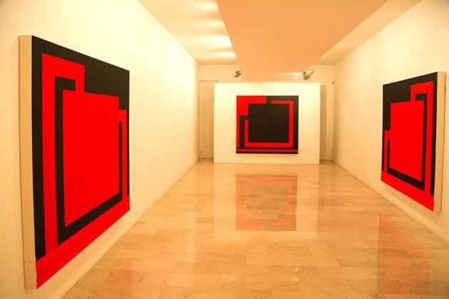 Peter Halley – New Paintings - Galleria Mazzoli, Modena 2016