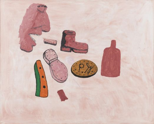 Philip Guston, Painter's Forms, 1972 © The Estate of Philip Guston, Courtesy Hauser & Wirth