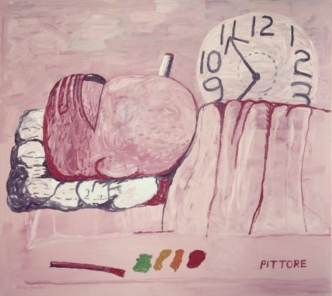 Philip Guston, Pittore, 1973 © The Estate of Philip Guston, Courtesy Hauser & Wirth