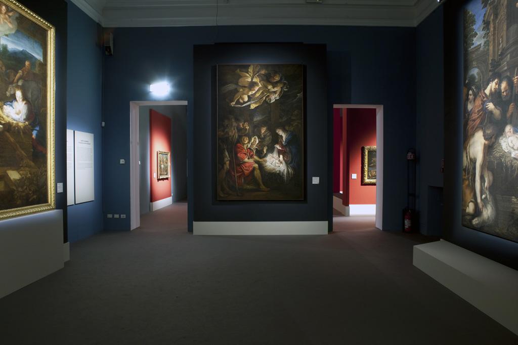 Pietro Paolo Rubens, Adorazione dei pastori – installation view at Palazzo Reale, Milano 2016 – photo credit Elena Strada