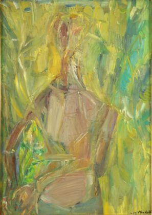 Pompilio Mandelli, Donna nel giardino, 1955 - Collezioni d'Arte e di Storia della Fondazione Cassa di Risparmio in Bologna - photo Paolo Righi, Meridiana Immagine