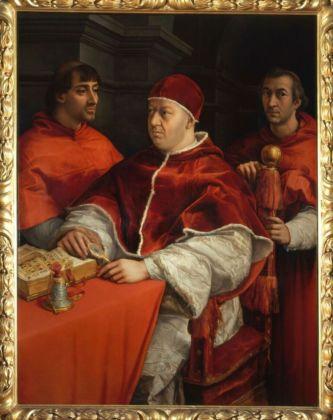 Raffaello Sanzio, Ritratto di Papa Leone X, 1515-16 - Firenze, Galleria degli Uffizi