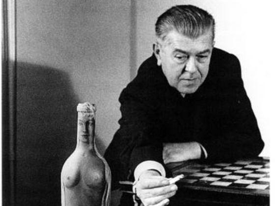 René Magritte nel 1960