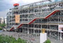 Renzo Piano & Richard Rogers, Centre Pompidou, Parigi