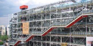 Renzo Piano & Richard Rogers, Centre Pompidou, Parigi 1971