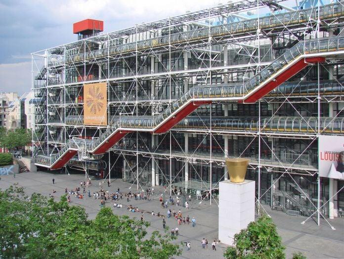 Renzo Piano & Richard Rogers, Centre Pompidou, Parigi