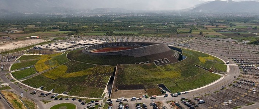 Renzo Piano, Vulcano buono, Nola 2007