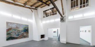 Sabrina Casadei – A Thousand Miles Away - installation view at AlbumArte, Roma 2016 – photo Sebastiano Luciano