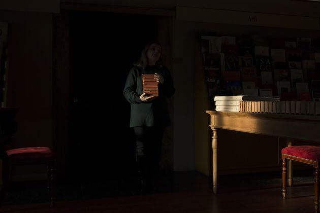 Sara Rossi, Clelia, 2016, fotografia su d-bond, 110x80 cm