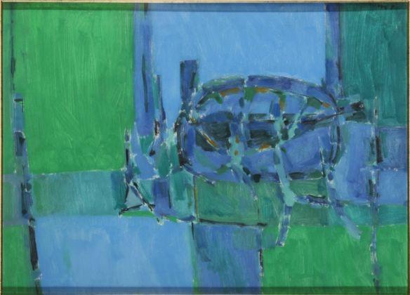Sergio Romiti, Composizione, 1953 - Collezioni d'Arte e di Storia della Fondazione Cassa di Risparmio in Bologna - photo Paolo Righi, Meridiana Immagine