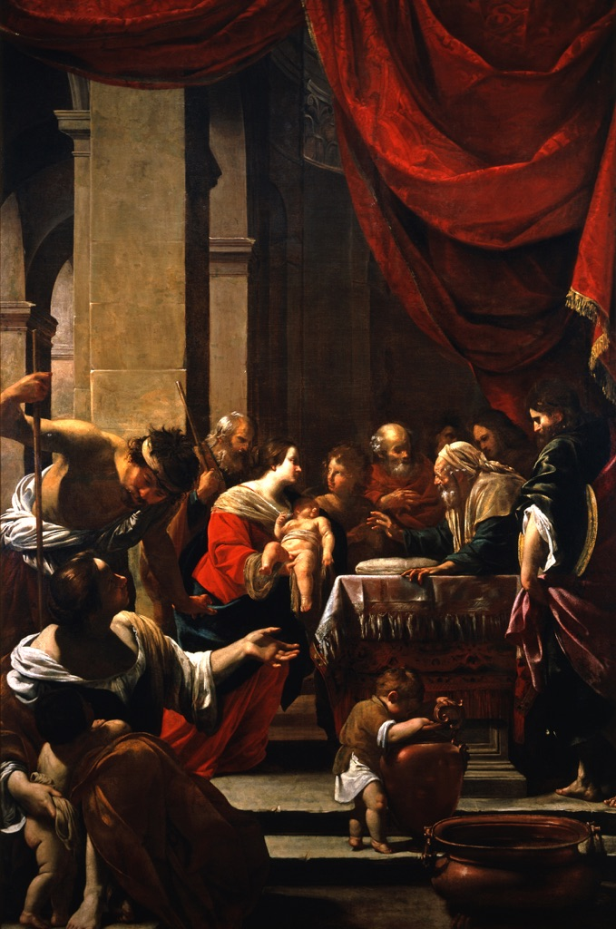 Simon Vouet, La circoncisione, 1622. Napoli, Museo Nazionale di Capodimonte. © Museo e Real Bosco di Capodimonte