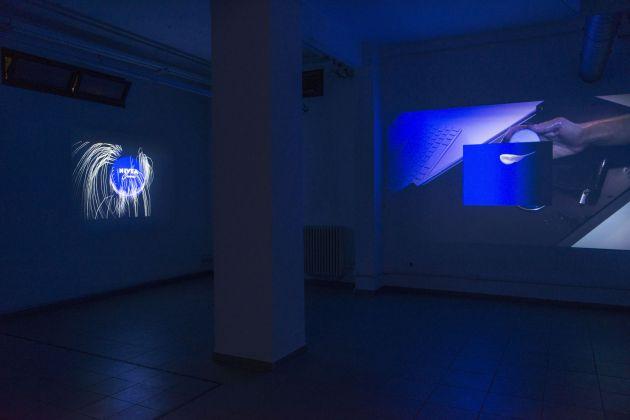 Sinae Yoo, Shadow rift, installation view at The Gallery Apart (basement), photo by Giorgio Benni