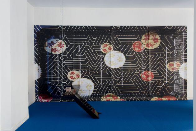 Sinae Yoo, Shadow rift, installation view at The Gallery Apart (ground floor), photo by Giorgio Benni