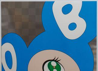 Takashi Murakami - And-then,-and-then,-and-then,-and-then,-and-then-(aqua-blue)