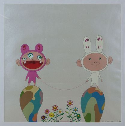 Takashi Murakami - No-title-(subject-KaiKai-and-KiKi)