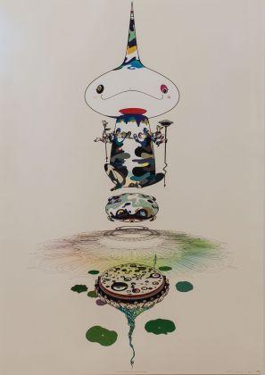 Takashi Murakami - Reversed-Double-Helix