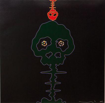 Takashi Murakami - Time-Bokan-Black-+-moss-green