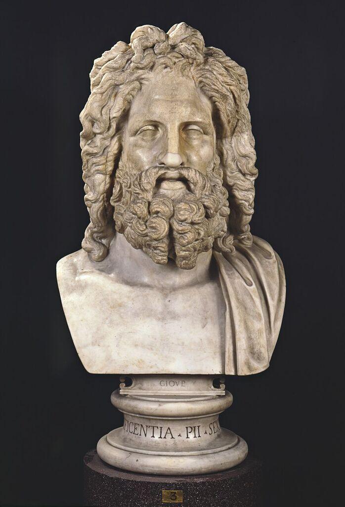 Museo Del Vaticano.Testa Di Giove Prima Meta Del I Sec A C Citta Del Vaticano