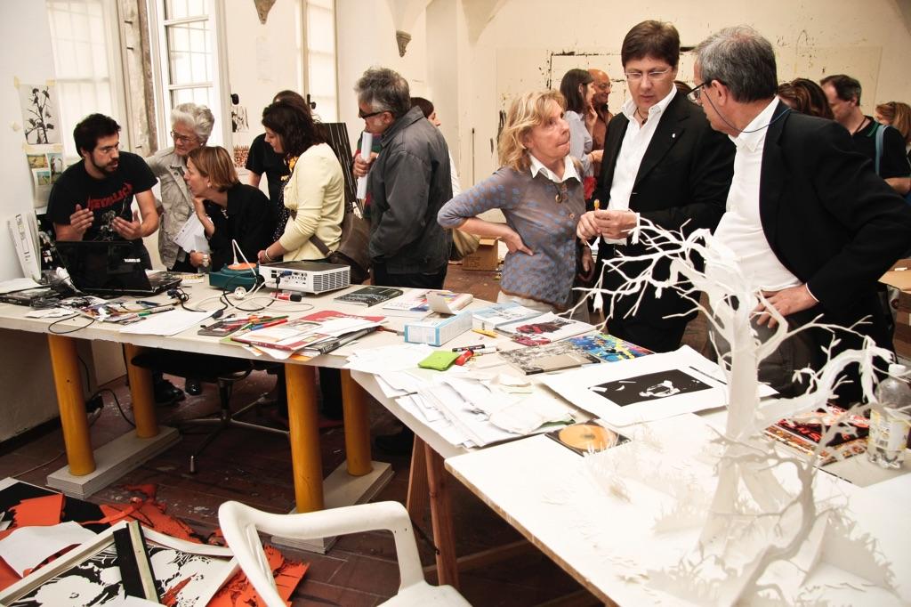 The Blank ArtDate 2011 - Open Studio Andrea Mastrovito