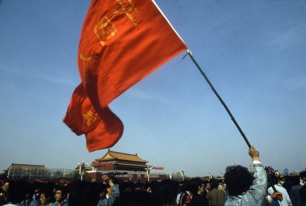 Tiananmen Square, Beijing, China, 1989 © René Burri / Magnum Photos
