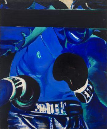 Titina Maselli, 1965, Senza Titolo, olio su tela, 120x100 cm, courtesy Galleria Massimo Minini Brescia