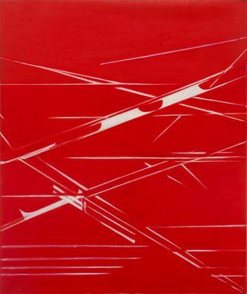 Titina Maselli, 1972, Nodo nel cielo, acrilico su tela, 149x123 cm, courtesy Galleria Massimo Minini Brescia