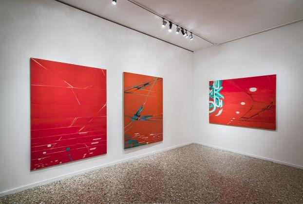 Titina Maselli, exhibition view at Fondazione Querini Stampalia, Venezia 2016, photo Gilberti Petrò, courtesy Galleria Massimo Minini Brescia
