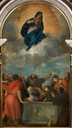 Tiziano Vecellio, Assunzione della Vergine, 1530-32 - Verona, Chiesa di Santa Maria Assunta