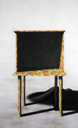 Tom Johnson, Untitled, 2016, carboncino su carta