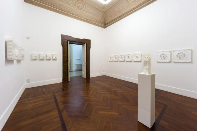 Tomaso Binga – exhibition view at Galleria Tiziana Di Caro, Napoli 2016
