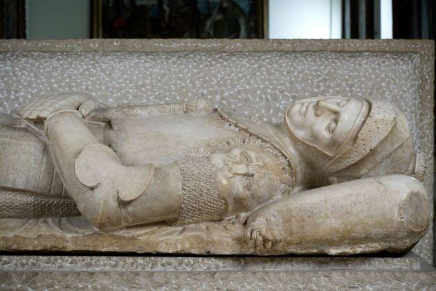 Tullio Lombardo, Lastra sepolcrale di Guidarello Guidarelli, 1525 - Ravenna, Museo d'arte della città