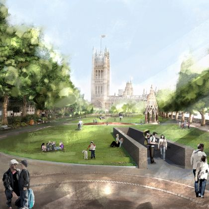 UK National Holocaust Memorial, il progetto Foster + Partners and Michal Rovner